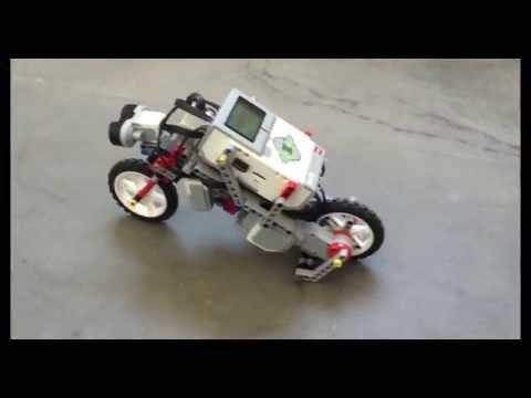 Lego Mindstorms EV3 bike project #MATLABHW2k16