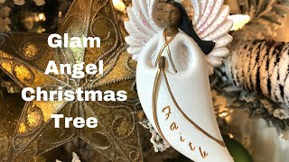 Decorate With Me - Glam Angel Christmas Tree