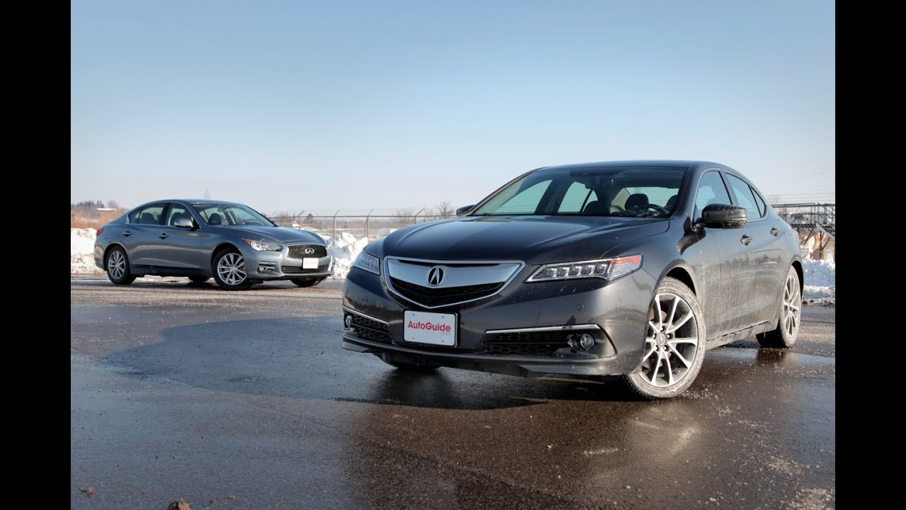 2015 Acura TLX vs 2015 Infiniti Q50 - YouTube