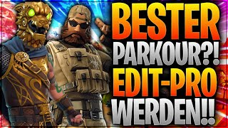 🎢🏆⚔️ BESTER PARKOUR?! Edit-Pro werden! | Fortnite Battle Royale