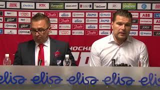 Sport - HIFK 5.10.2017 Lehdistötilaisuus