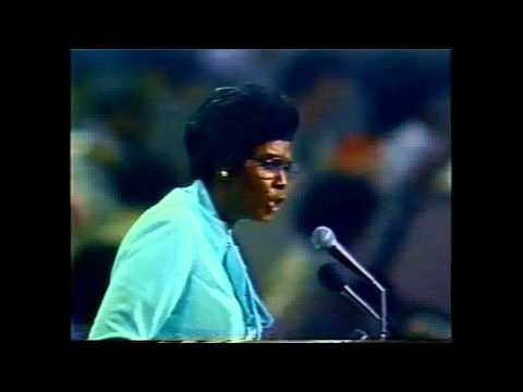 Barbara Jordan, Democratic National Convention Keynote Speech, 1976, part 2