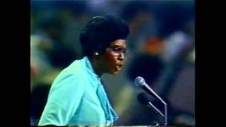 Barbara Jordan, Democratic National Convention Keynote Speech, 1976, part 2