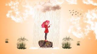Rain in artwork photo manipulation | photoshop tutorial