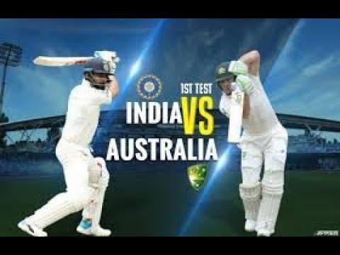 Live: IND Vs AUS 1st Test | Day 2 | Live Scores | 2018 Series