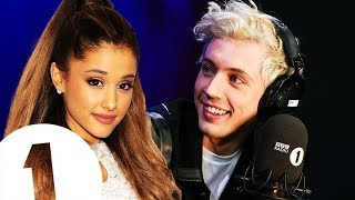Troye Sivan & Ariana Grande working together!