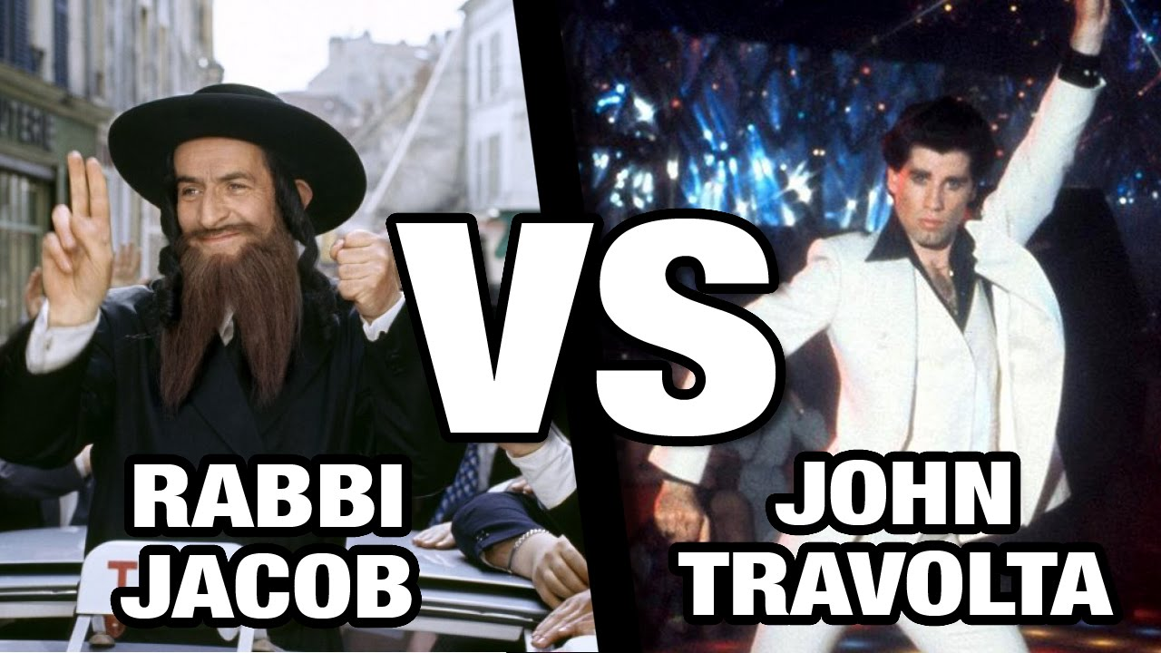 Quand John Travolta rencontre Rabbi Jacob