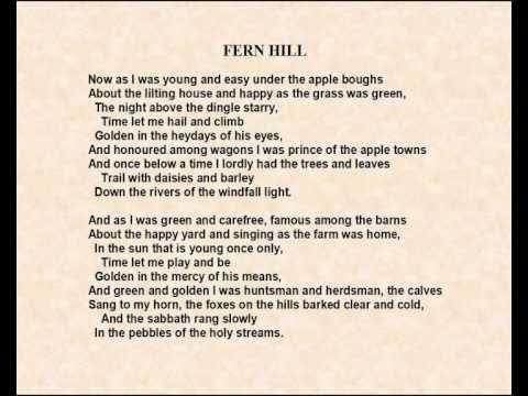 fern hill analysis