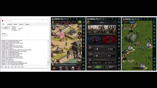 Clash of Kings Auto Farm Bot & Cheats | KingsBot Demo