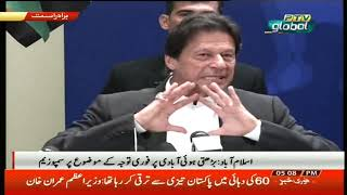 Prime Minister of Pakistan Imran Khan Speech at Symposium on Population Growth Islamabad (05.12.18)