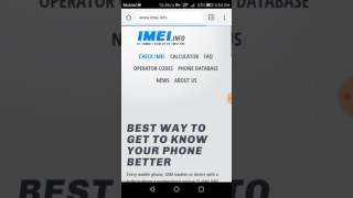How to check IMEI number in any phone   make sure your device is original or fake        YouTube