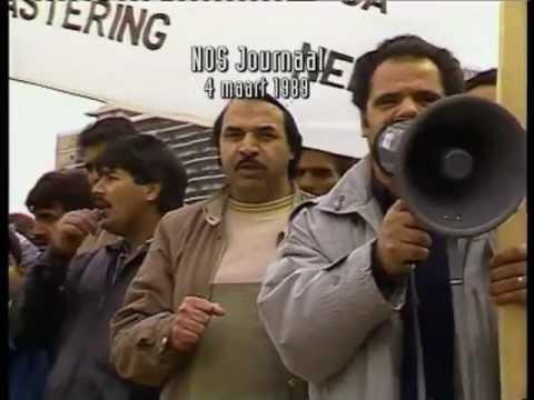 Radicale moslims in 1989