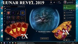 Lunar Revel 2019 Orbs and Tickets Opening  - League Of Legends