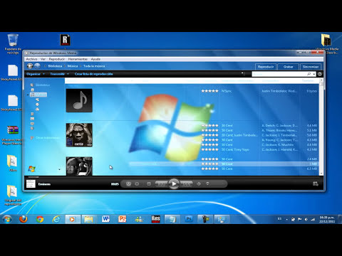 Windows Media Player 12 Full Glass [Solo Windows 7 y 8]