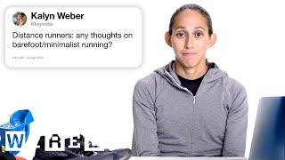 Marathon Champion Answers Running Questions From Twitter | Tech Support | WIRED