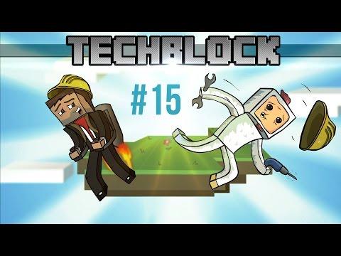 TechBlock 15: Láska k výtahu | Minecraft Box