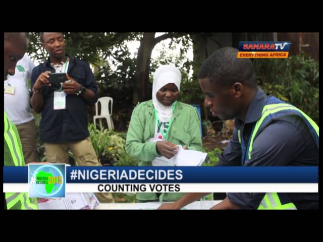#NIGERIADECIDES-counting of Votes 2