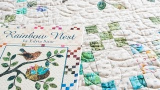 Rainbow Nest Children's Book with Quilt Pattern by Edyta Sitar - Fat Quarter Shop