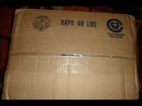 40 Pound Box of Rape