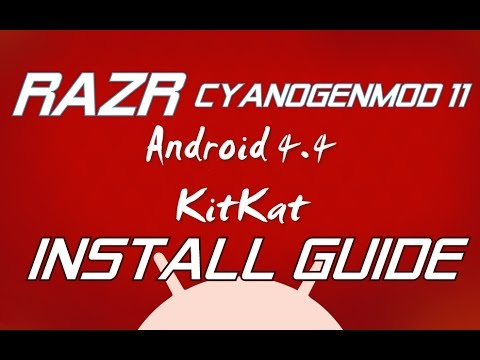 [KK][CM11] Installing Android 4.4 on RAZR Tutorial Official by .:Hrishi21007™:.