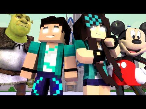 Minecraft: VIDA REAL - #62 LUA DE MEL NA DISNEY! - Comes Alive Mod