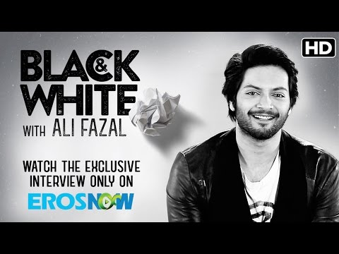 Catch Ali Fazal On Eros Now Black & White | The Interview