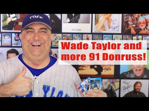 Autograph returns TTM from Wade Taylor, Dennis Lamp and More!