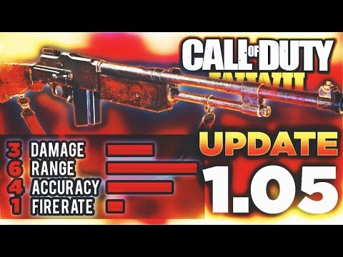 """The """"BAR"""" NERF in COD WW2! (1.05 UPDATE) - Call of Duty WW2 NEW 1.05 UPDATE + PATCH NOTES!"""