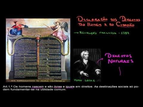 Revolução Francesa #1 - Declaração dos Direitos do Homem e do Cidadão