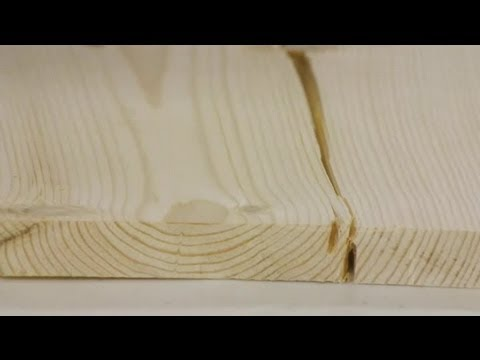 How To Repair Split Wood Boards Woodworking Tips Youtube