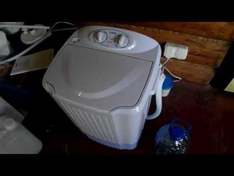 Стиральная машина с баком для воды своими руками