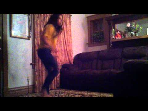 Girl malay shuffling