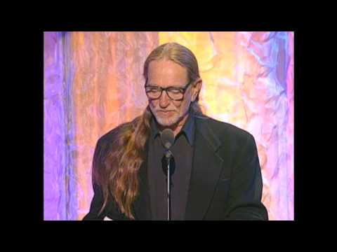Willie Nelson Inducts the Allman Brothers Band in 1995