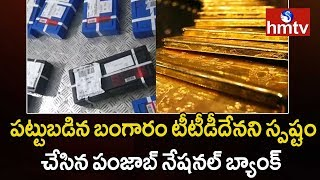 1381 kgs Gold Seized by EC Belongs To TTD - Punjab National Bank | hmtv