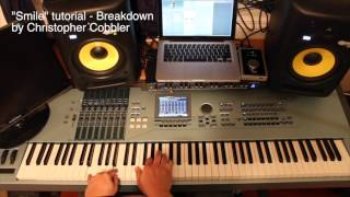 Smile Piano Tutorial By Christopher Cobbler
