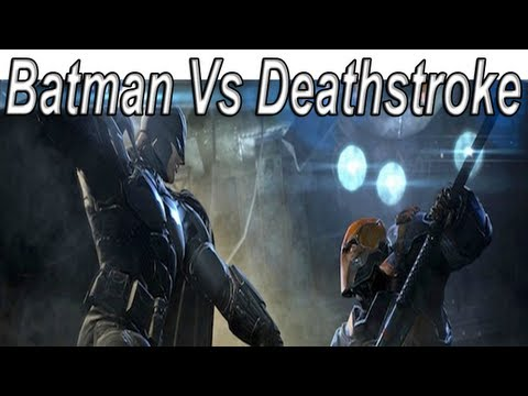 Batman Arkham Origins Batman Vs. Deathstroke Teaser Trailer 【Wii U,PlayStation 3,Xbox 360 DEMO HD】