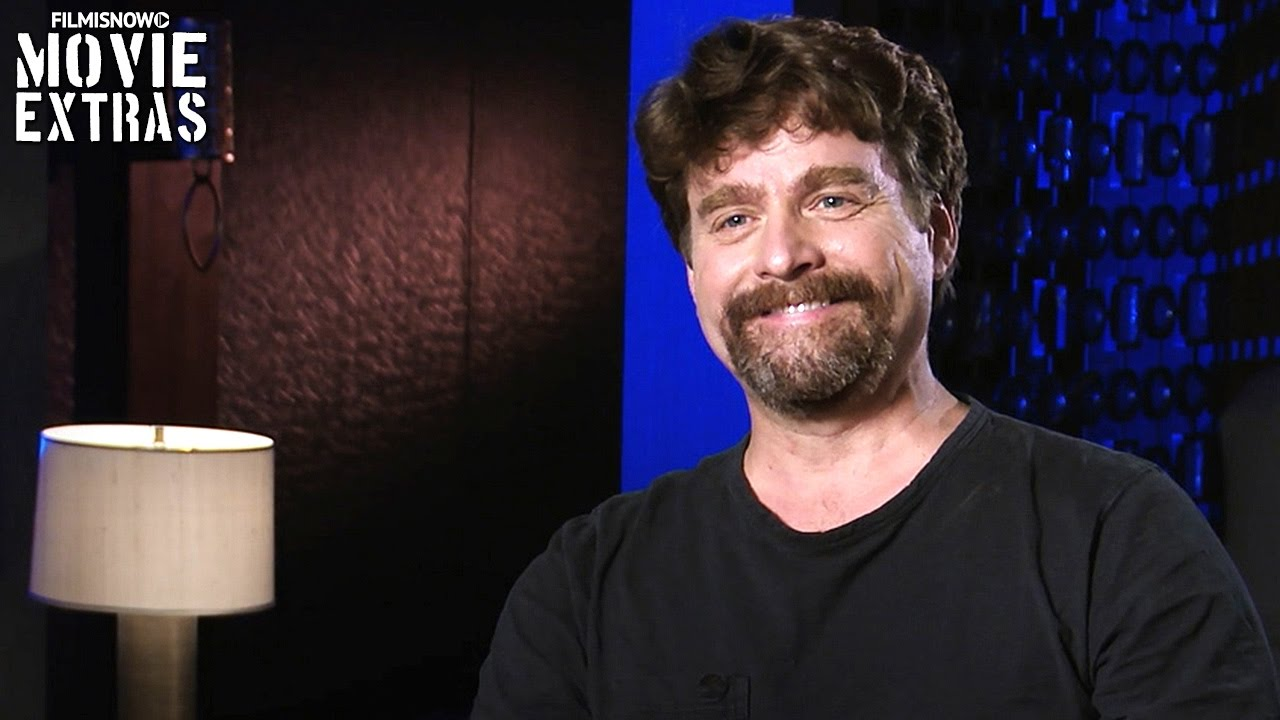 Keeping Up with the Joneses | On-set visit with Zach Galifianakis 'Jeff Gaffney'