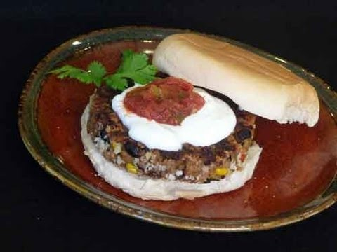 Black Bean Burgers Recipe