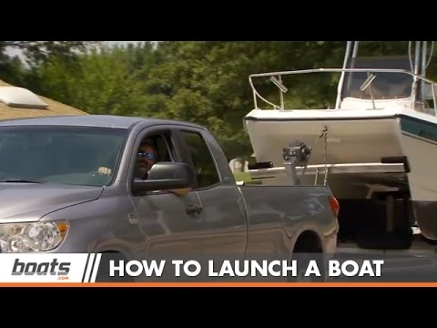 How to Launch. Retrieve. and load a Boat on a Trailer