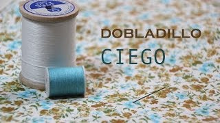 Clase costura 9: Dobladillo invisible