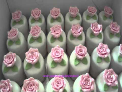 5 Tier Wedding Cake With 70+ Mini Cakes video
