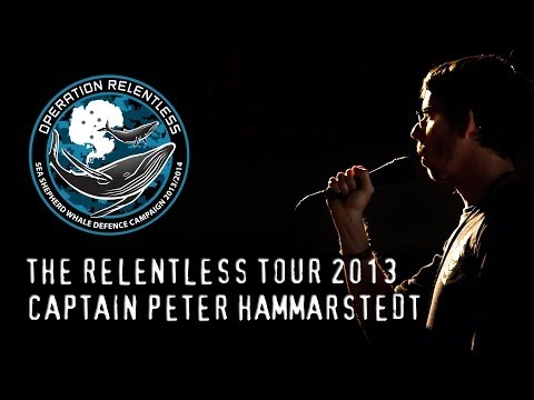 Peter Hammarstedt Speech -  Relentless Tour 2013