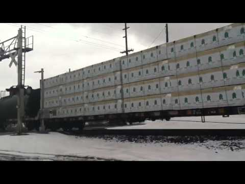 Canadian National mixed freight 2-28-13