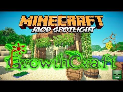 GROWTHCRAFT MOD MINECRAFT 1.7.10   ¡Cultivos y bebidas alcohólicas!   REVIEW ESPAÑOL