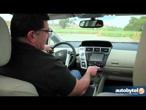 2012 Toyota Prius V Test Drive & Hybrid Car Review