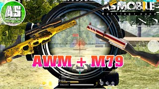 [Garena Free Fire] AS Mobile Quẩy M79 Và AWM | AS Mobile
