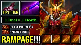 ARMLET LEGION IS BACK!!! 100% Destroyed Offlane EZ RAMPAGE 1Duel = 1Win NEW Sickness Build DotA 2