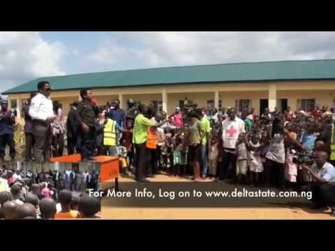 Nollywood Icons Aki and Pawpaw in Delta state rehabilitation Camps