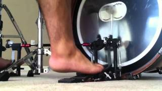 DW5000 Double Bass Pedal Test