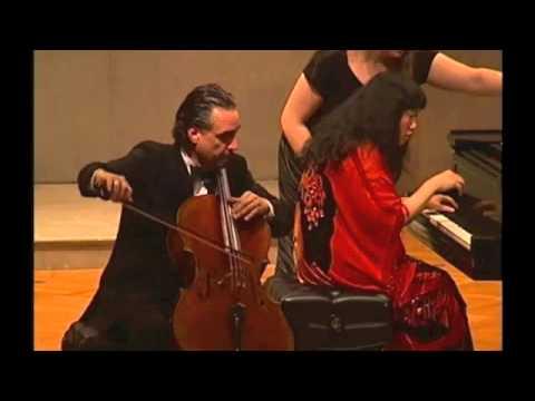 Auerbach Sonata for Cello and Piano, 1st Movement, David Finckel and Wu Han